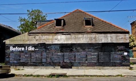 Before I Die, New Orleans (after)